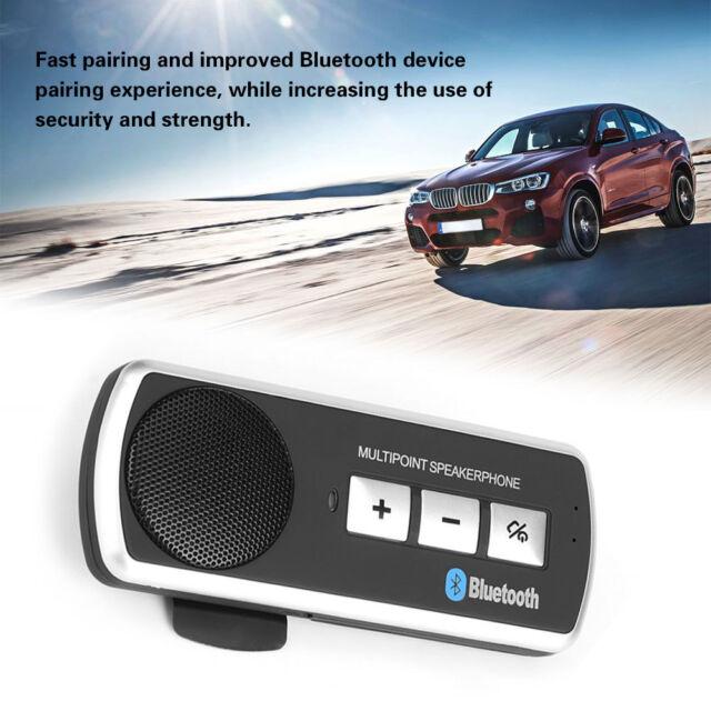 Wireless Bluetooth 3.1 Handsfree Car Kit Multipoint Speaker Phone USB Charger Car Speakerphones