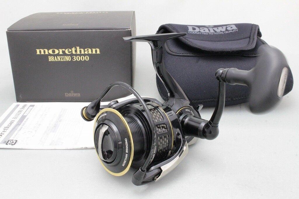 Daiwa Morethan Reel BRANZINO 3000 Spinning Reel Morethan 2208a6