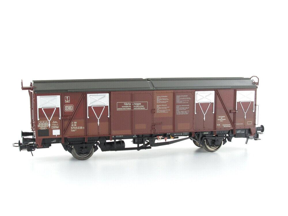 Modellbahn Union MU-H0-G66011 Güterwagen FährStiefelwagen Tcefs 845 gealtert H0 Gle  | Deutsche Outlets