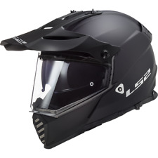 LS2 MX436 Pioneer Evo Motocross Helm Schwarz Matt XXS 51//52