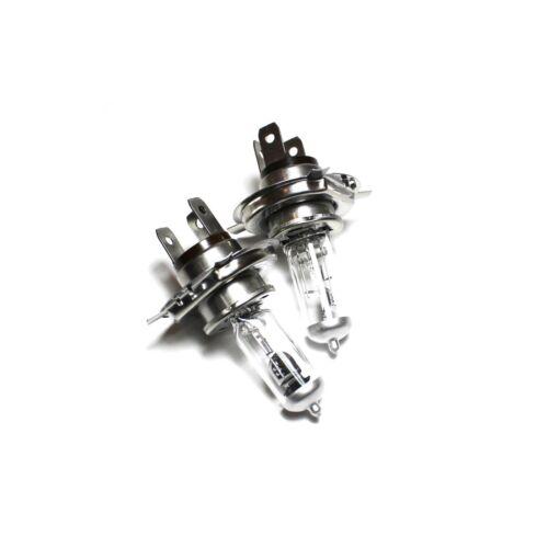 55w Clear Halogen Xenon HID Main High//Low Dip Beam Headlight Bulbs