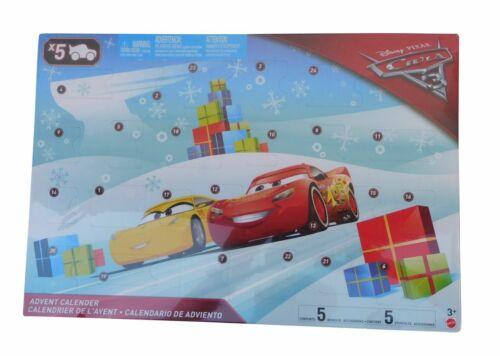 CARS Calendrier De L/'Avent MATTEL Disney fgv14 calendrier article neuf