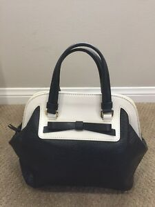 1e89ed34f945 AUTHENTIC BNWT Kate Spade Top Handle Large Scotty Bow Bag Bowler ...