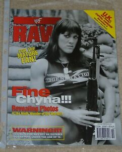 WWF-MAGAZINE-RAW-OCTOBER-1998-WRESTLING-CHYNA-COVER-amp-POSTER-WWE-RARE