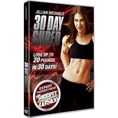 Jillian Michaels: 30 Day Shred DVD (2009) Jillian Michaels