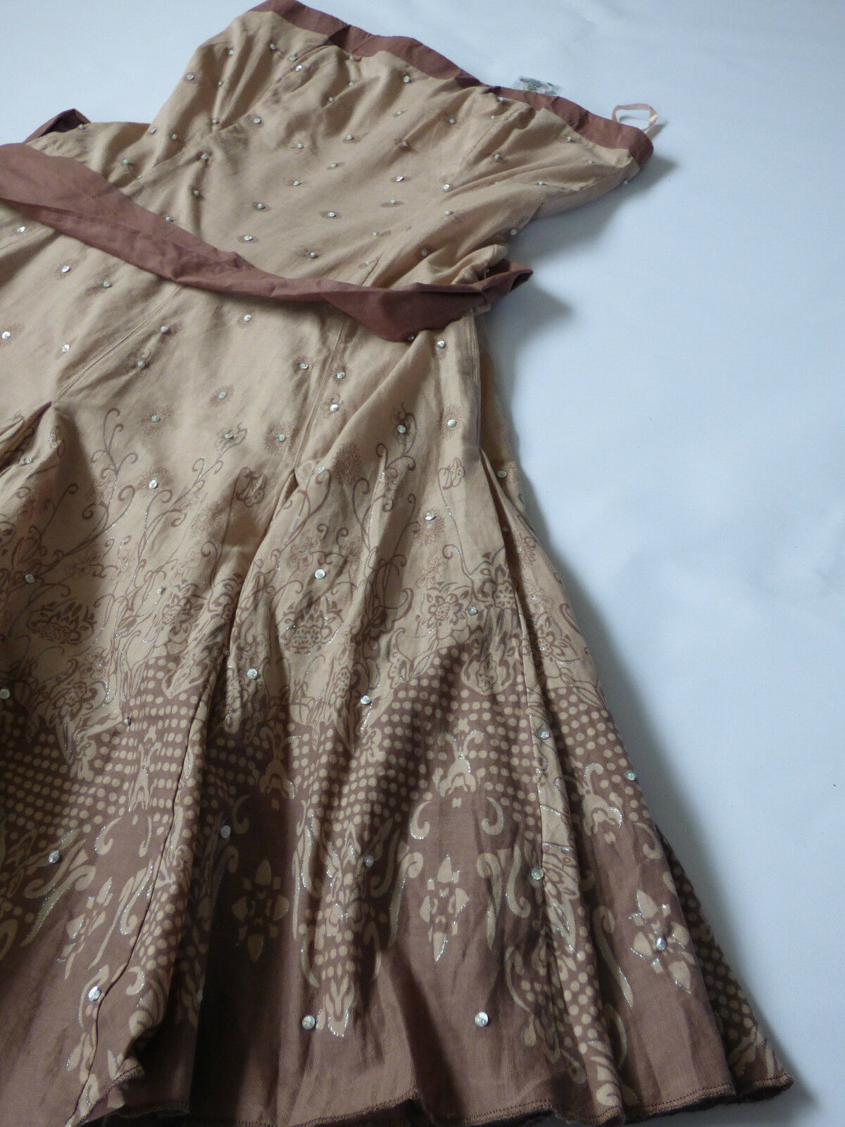 Women's Jane Norman cappuccino color dress  size 12 BNWT