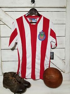 e6904ef603c Image is loading Club-Guadalajara-Chivas-Jersey-1960-039-s-Campeonisimo-