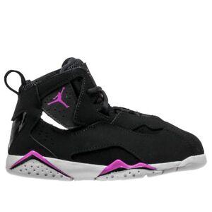 e81e49552fa7 Image is loading Nike-Jordan-True-Flight-TD-645071-001-Toddler-