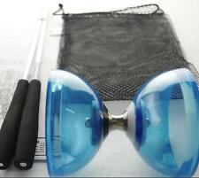 Big Chinese YO YO 3 Bearing Diabolo Set Metal Sticks String Bag Adult Size Gift