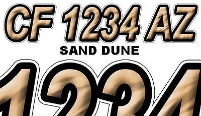 MANHOLE Custom Boat Registration Numbers Decals Vinyl Lettering Stickers USCG