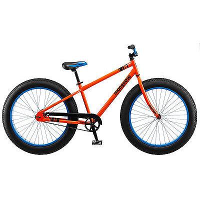 "26"" Mongoose Dozer Men's Fat Tire Bike, Orange"