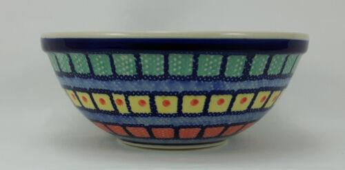 V=0,6L Bunzlauer Keramik Schale MISKA Schüssel ø17cm Salat bunt M090-10