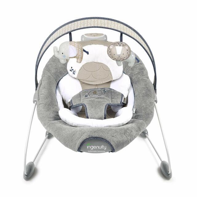 Ingenuity Dream Comfort Smart Bounce Bouncer - Townsend - Ex Display (1)