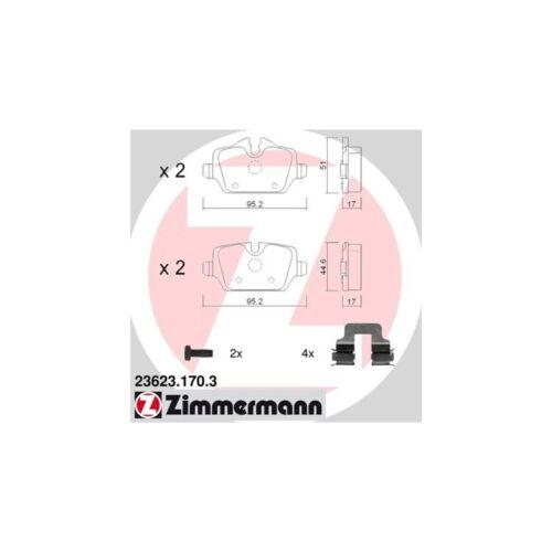 Zimmermann Plaquettes De Freins Arrière BMW Mini