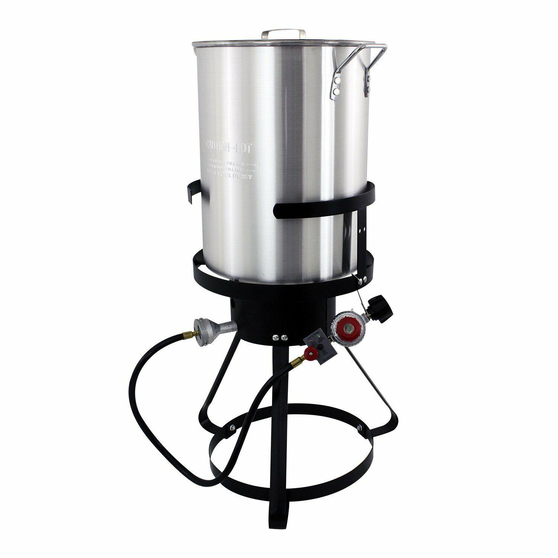Cajun Injector Propane Gaz Jardin Camping Cuisine Turquie Friteuse