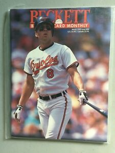 Details About Beckett Baseball Magazine Monthly Price Guide March 1992 Cal Ripken