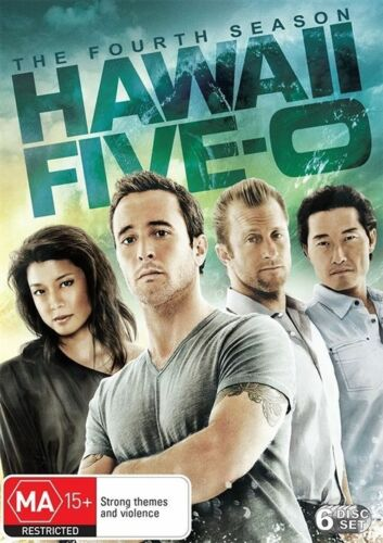 1 of 1 - Hawaii 5-O : Season 4 (DVD, 2015, 6-Disc Set)