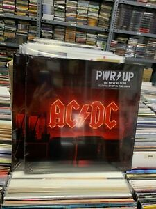 AC/Dc LP Power Up 2020 Yellow Transparent Vinyl Versiegelt