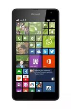 Brand NEW DUAL SIM Microsoft Lumia 535 nero 8gb sbloccato Windows Smartphone...