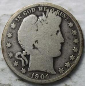 United-States-1904-P-Silver-Barber-Head-Half-Dollar