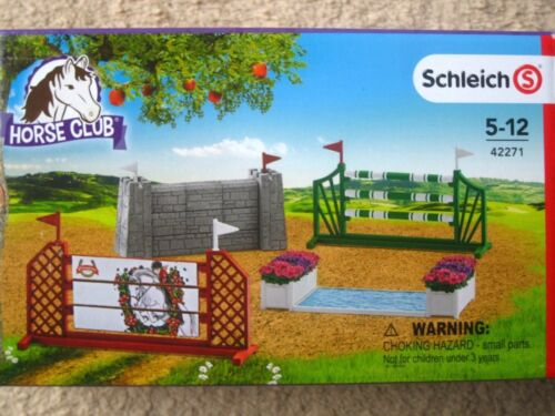 NEW Schleich Pony Horse Club Show Jumps Jumping for Stable Farm Nature for Arena