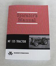 Massey Ferguson Mf 135 Tractor Operators Owners Manual Gas Amp Diesel 1964 1975