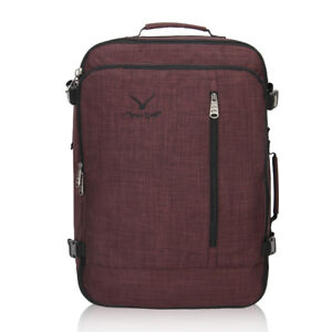 Hynes-Eagle-38L-Carry-On-Backpack-Flight-Approved-Bags-Overnight-Lugguage-Duffel