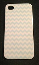 CHEVRON IPHONE 4 4S HARD CASE COVER COLOR BLUE NEW BACK PROTECTOR 3GS 3 G - 3 GS