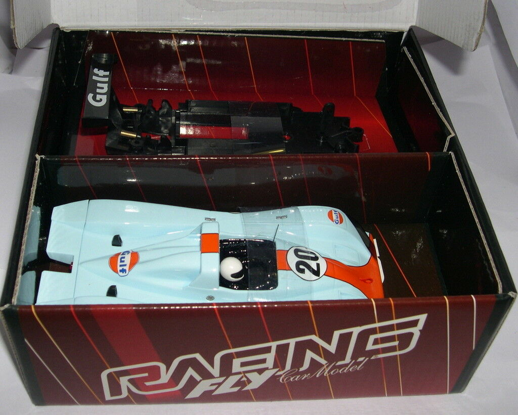 FLY 88350 SLOT CAR LOLAB98 10 RACING GULF MB