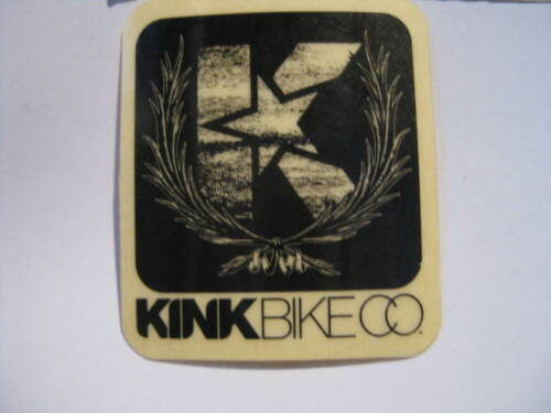 KINK BIKE BMX STREET FRAME Bike Bicycle DECAL STICKER