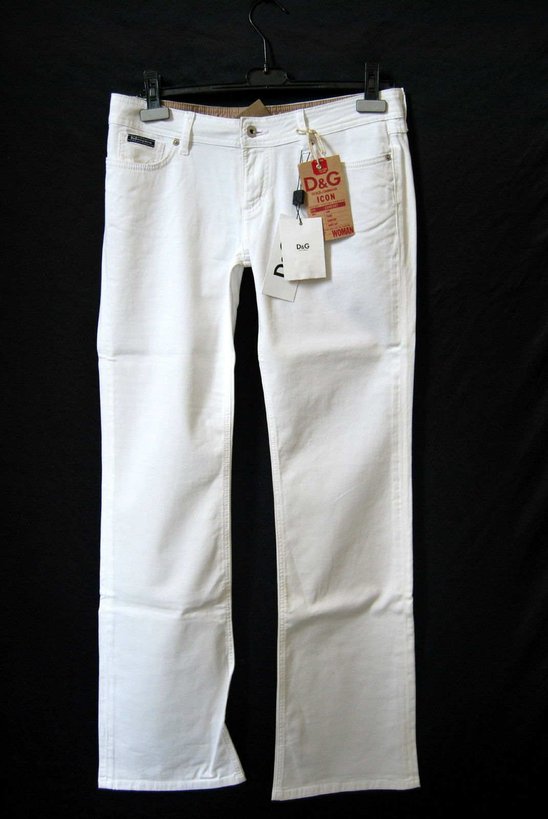 DOLCE&GABBANA Hose STRETCH NEU Gr. 38 W29 Original     EDEL Stiefel Cut 179 - D-1591 951652