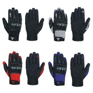 Spandex-Microfibre-Textile-Gants-Doublure-Coque-Haute-Resistance-Moto-Motard