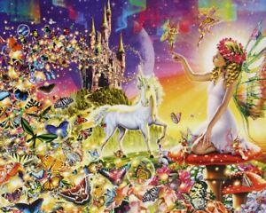 500-Pezzi-Puzzle-Fairyland-Unicorno-Sigillato-Nuovo-di-Zecca-amp
