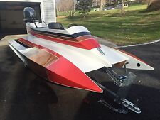 Original Boat Plans: Dillon Laker SC12 Racing/Recreational Tunnel Boat 40-60 hp