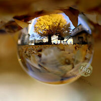 Asian Rare Natural Quartz Clear Magic Crystal Healing Balls Sphere 40mm + Stand