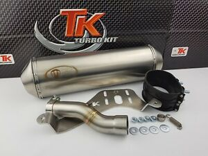 Turbo-Kit-G-Max-Edelstahl-Sport-Slip-On-Auspuff-Sym-Maxsym-400i-E4-400-2019-4T