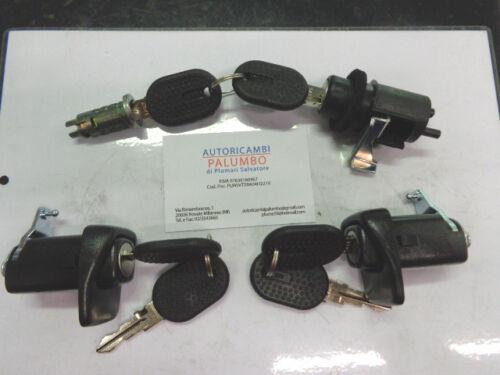 A2758 Kit impariglio porte cofano avviamento 4PZ  FIAT PANDA 1989-/>2003 e 4X4 U4