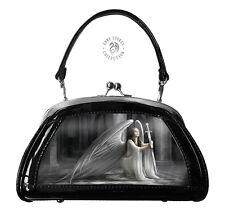 Anne Stokes Gothic The Blessing 3D Handbag Black Fantasy Lenticular Clutch