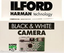1 x ILFORD HP5 400 35mm 27exp B&W DISPOSABLE SINGLE USE CAMERA by 1st CLASS POST