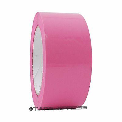 """2/"""" x 110 yd Pink 6 Rolls Packaging Packing Tape Carton Sealing Free Shipping"""