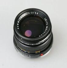 Leica Summicron-M 50mm 1:2 Dummy Attrappe Display Model