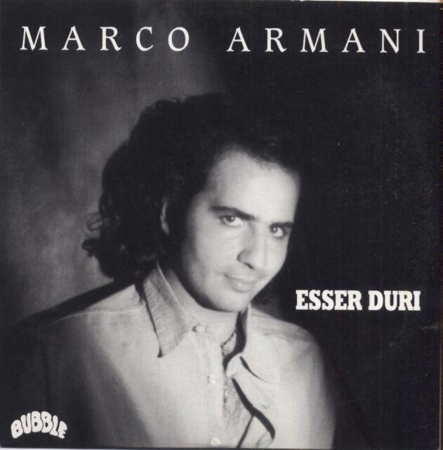 MARCO ARMANI - Esser duri CD SINGLE NUOVO NON SIGILLATO CARDSLEEVE LUCA CARBONI