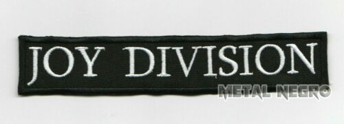 Joy division embroidered patch rock post punk astral threads