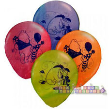 WINNIE THE POOH Celebrating LATEX BALLOONS (6)~ Birthday Party Supplies Helium