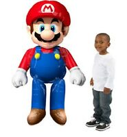 Super Mario Birthday Party Giant Gliding Balloon 60in Tall
