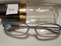 Insight Reading Glasses :103 Blue Ice Pd 58mm +1.50 938