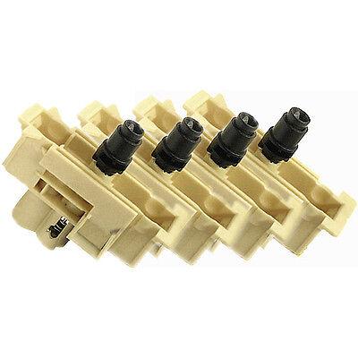 1055CM  Ink Tube System Ink Supply ValveFull Set of 4 HP Designjet 1050C