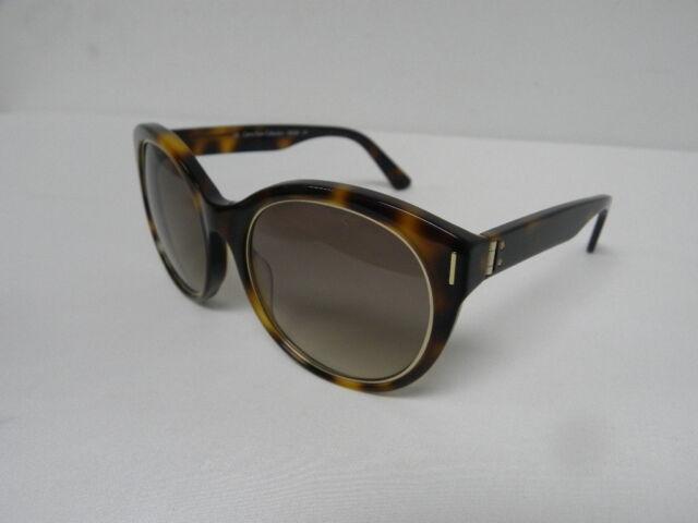 Calvin Klein CK8508S 218 Soft Tortoise Round Cat Eye Sunglasses CK 8508