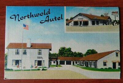 Frontier Court Motel Poplar Bluff Missouri MO Postcard