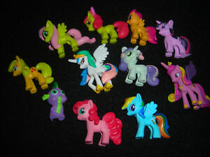 My Little Pony Lot Of 11 1 Toy Figure Cake Toppers Ebay